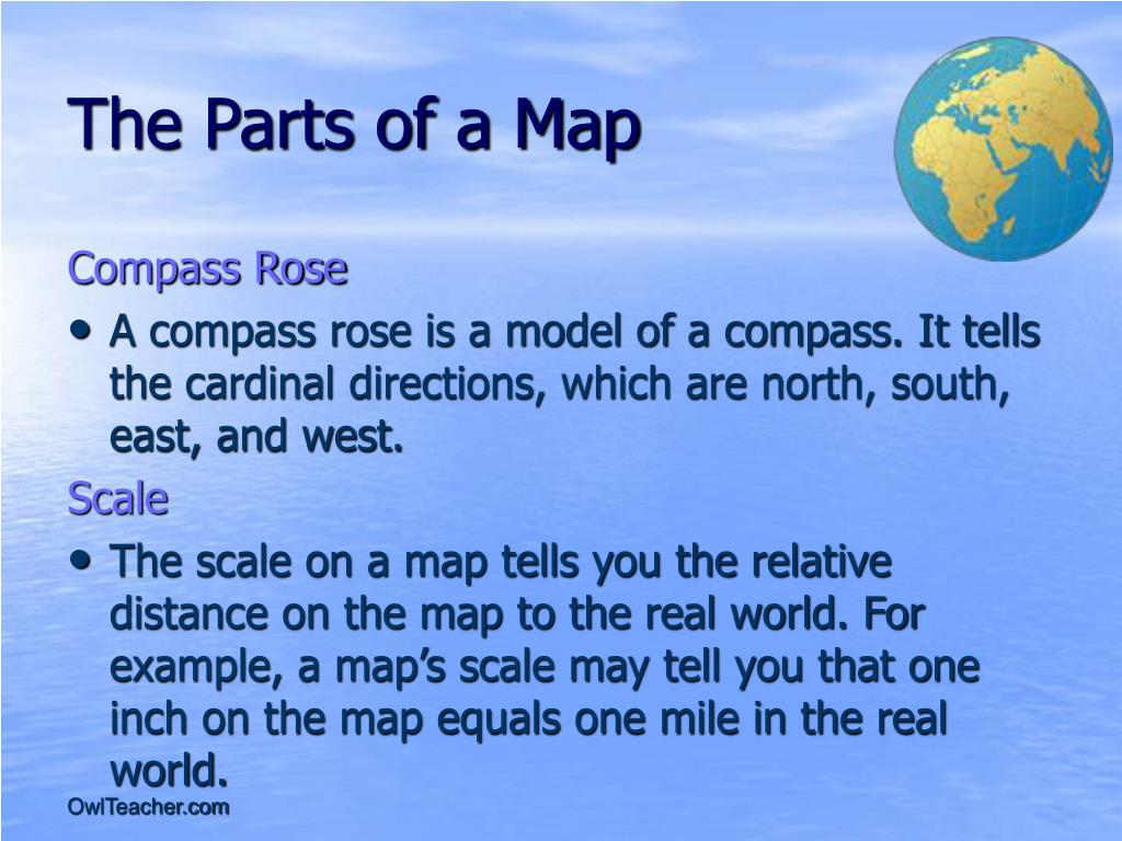 The Parts of a Map