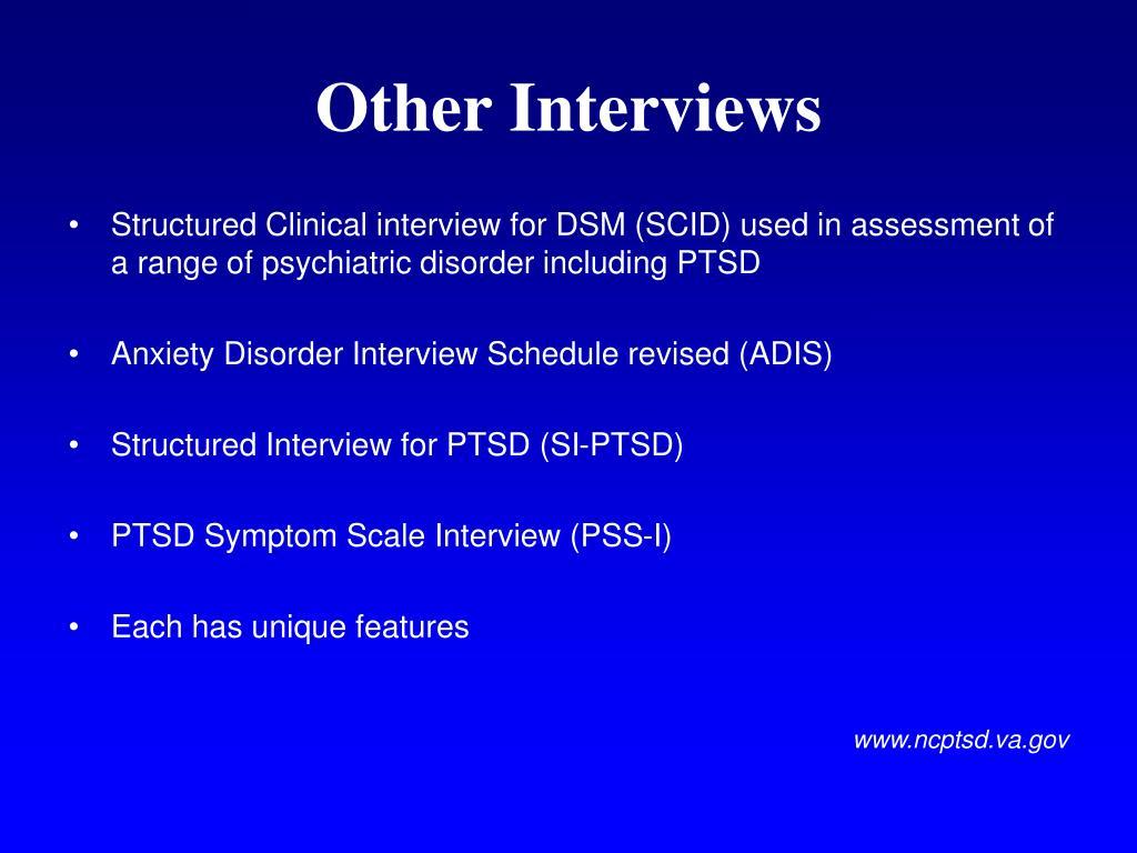 PPT - Posttraumatic Stress Disorder (PTSD) PowerPoint ...