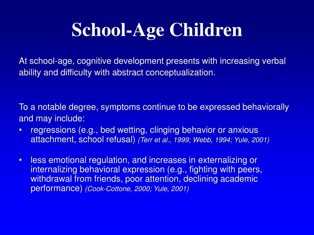 School-Age Children