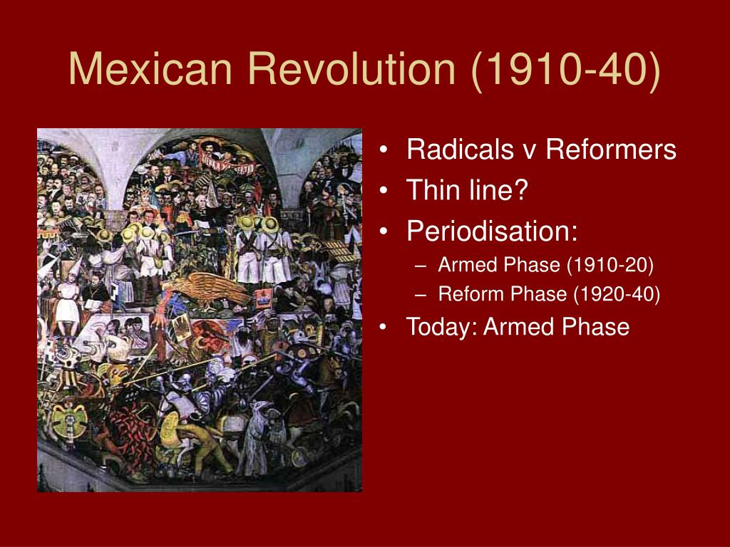 effects of the mexican revolution on