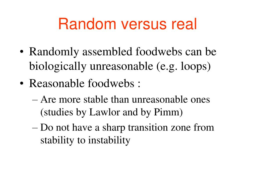 PPT - Biodiversity and Stability PowerPoint Presentation ...