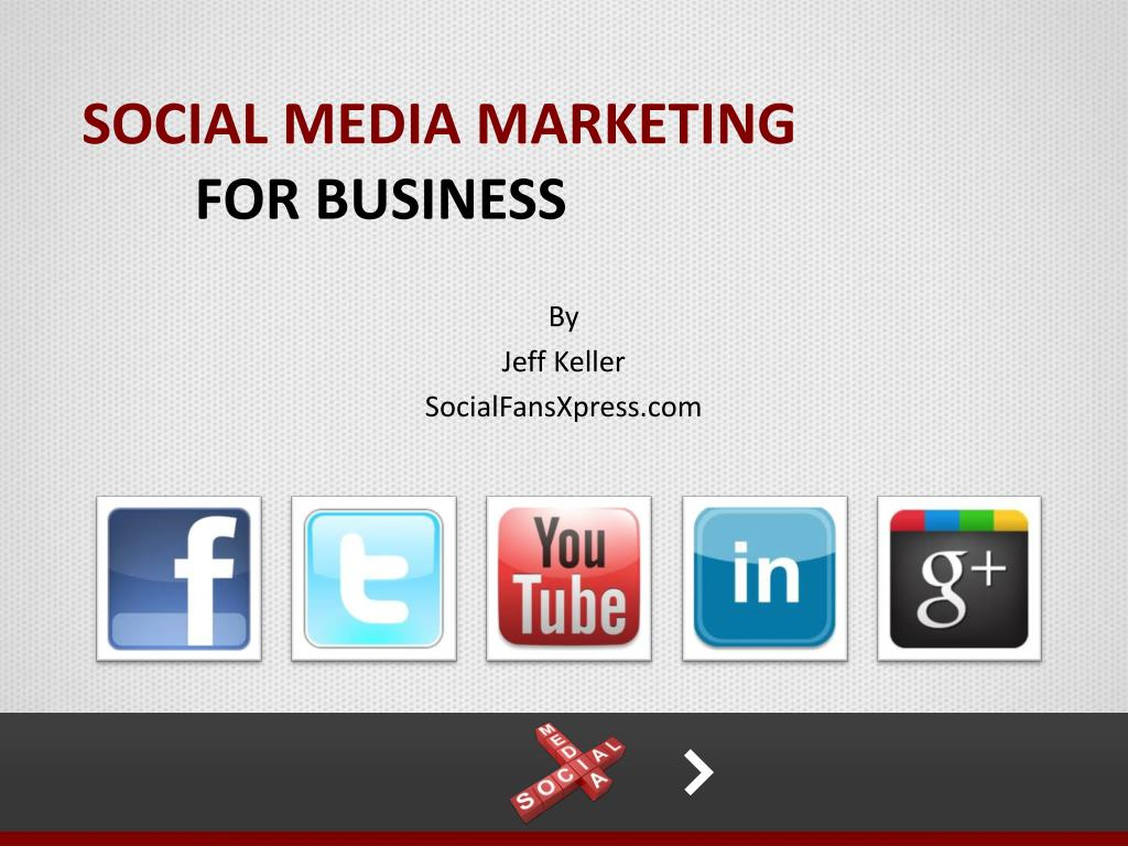 social media marketing for business l.
