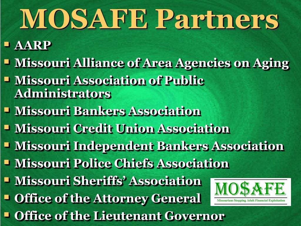 MOSAFE Partners