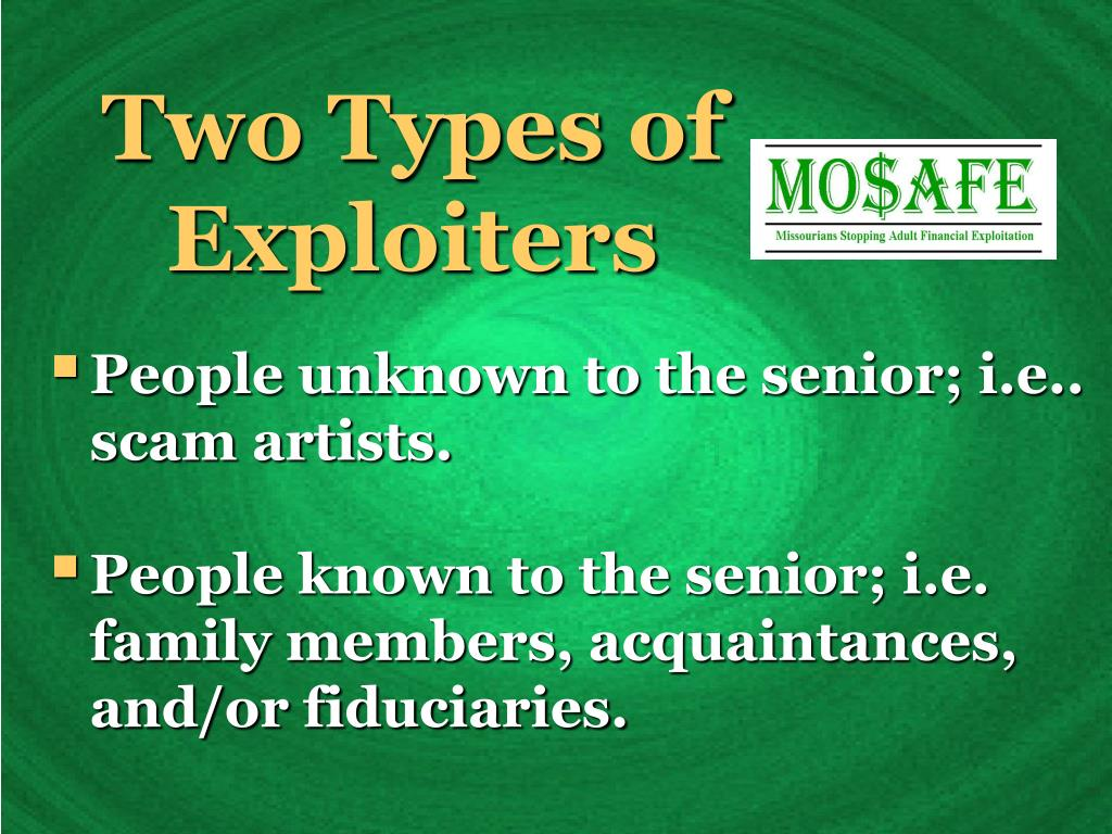 Two Types of Exploiters