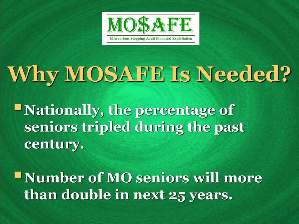 Why MOSAFE Is Needed?