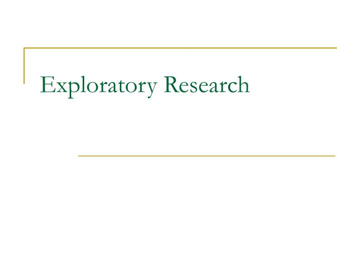 exploratory research questions An overview of the types of case study designs is provided along with general recommendations for writing the research questions, developing propositions, determining the case under study, binding the case and a discussion of data sources and triangulation.
