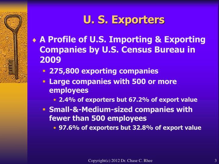 U s exporters3