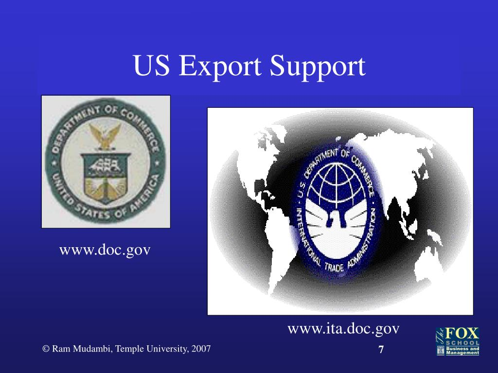 US Export Support
