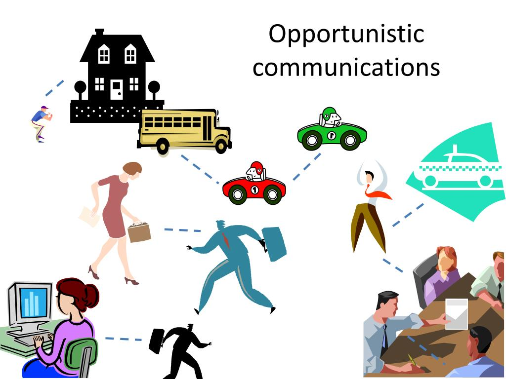 Opportunistic communications