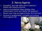 3 nerve agents