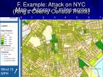 f example attack on nyc king s county census tracts