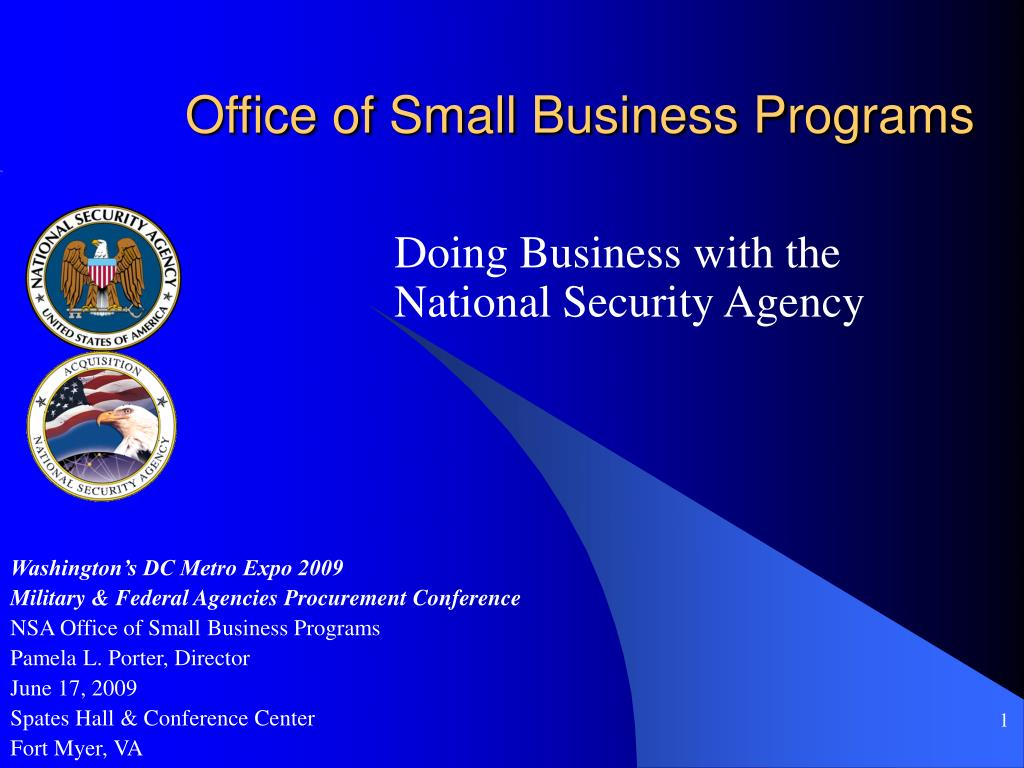 office of small business programs l.
