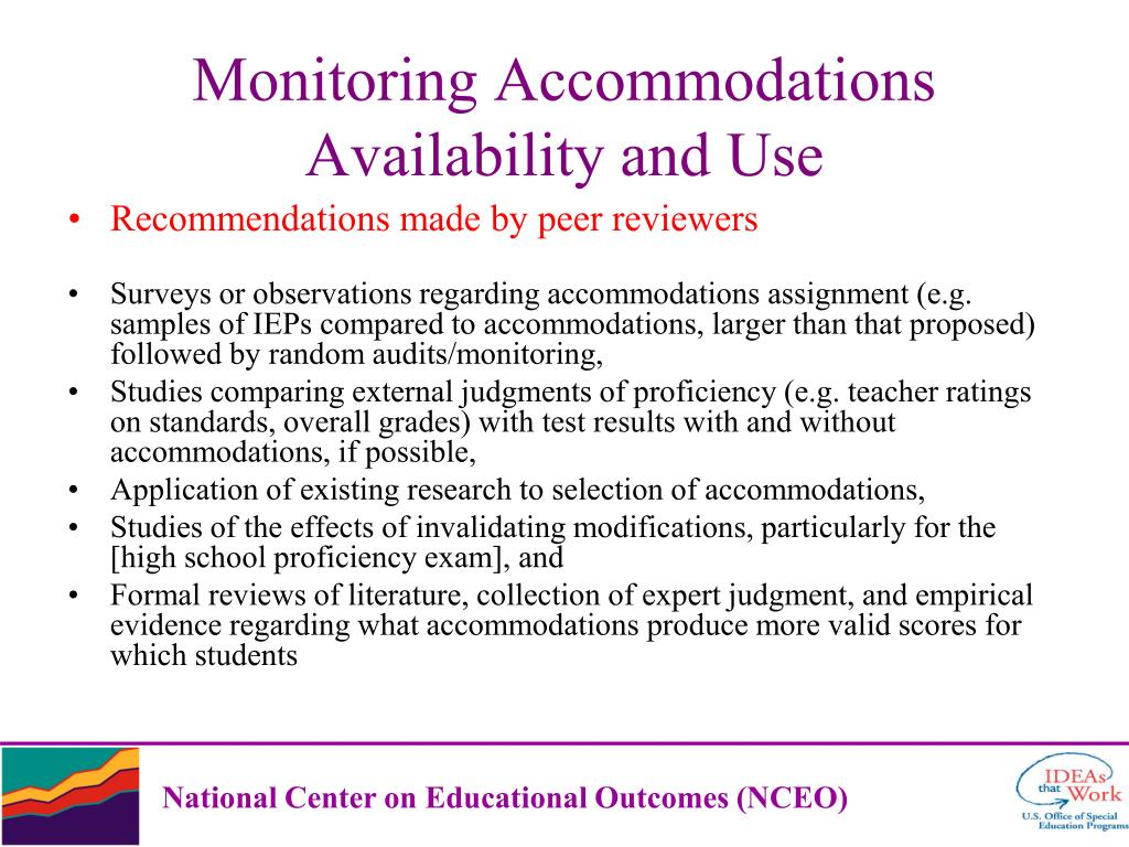 Recommendations made by peer reviewers