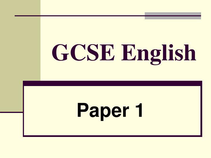 gcse english n.