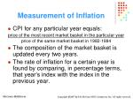 measurement of inflation29
