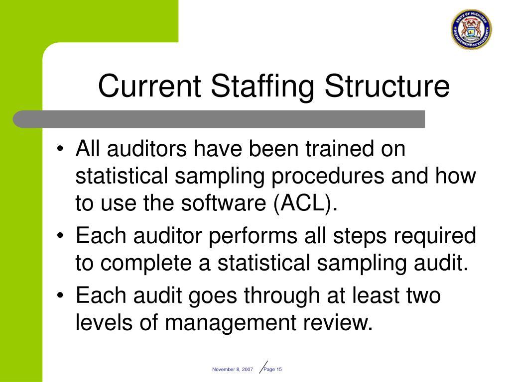 audit sampling using statistical methods