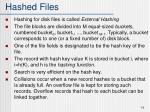 hashed files14
