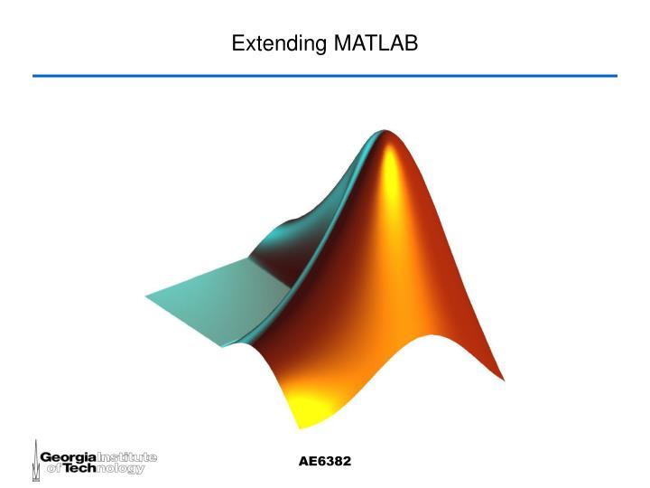 extending matlab n.