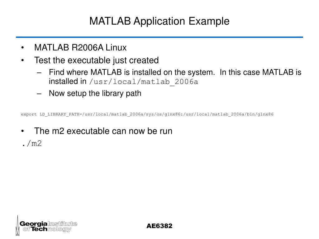 PPT - Extending MATLAB PowerPoint Presentation - ID:317577