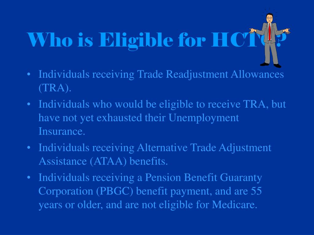 Who is Eligible for HCTC?