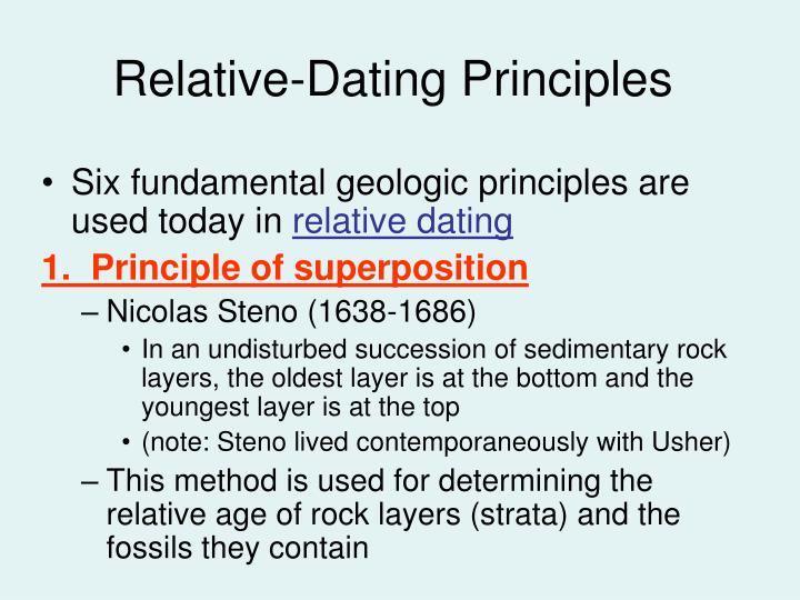 relative dating principles can you hook up with your ex