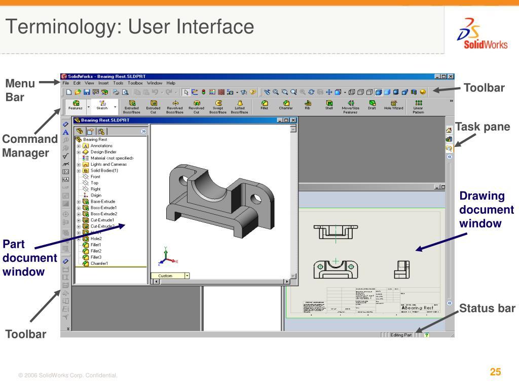 Terminology: User Interface