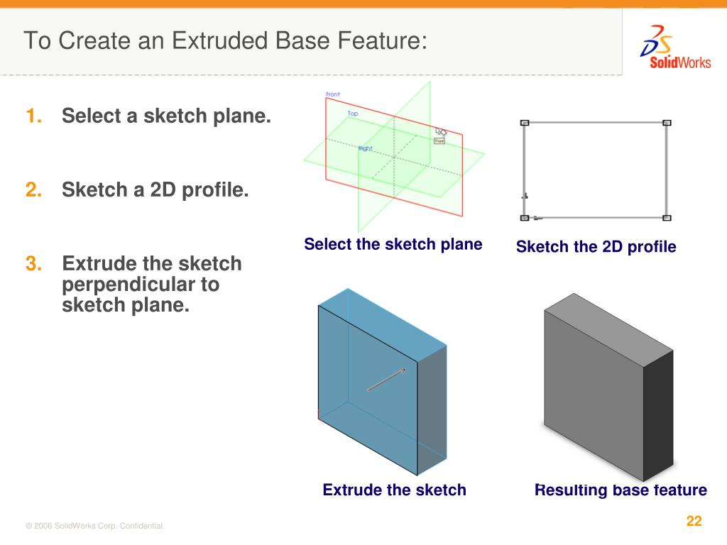 Select the sketch plane