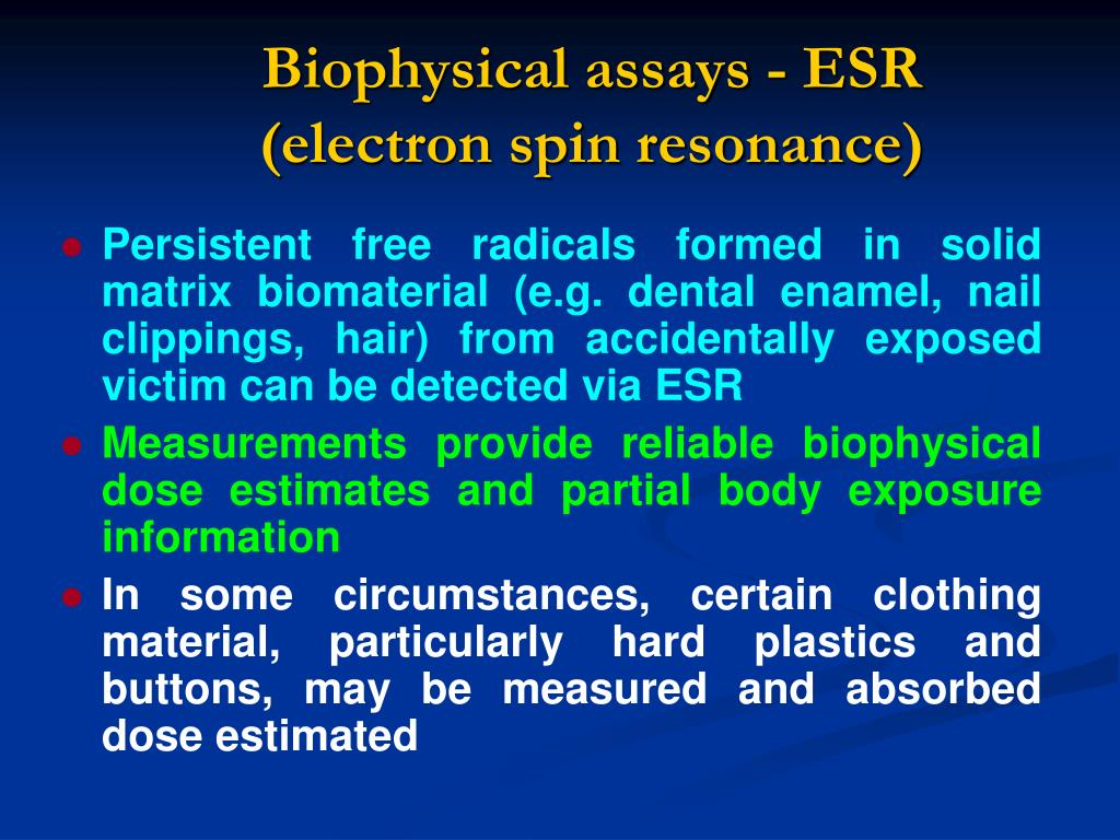 Biophysical assays