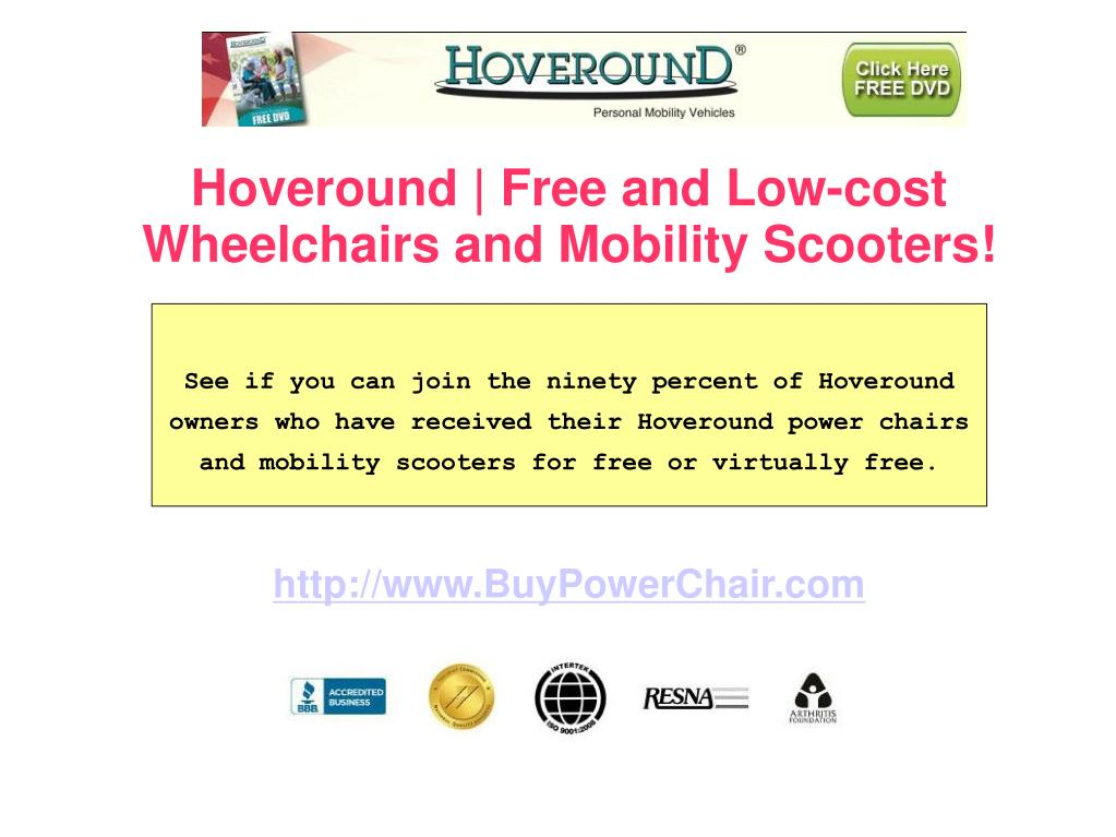 Hoveround | Free and Low-cost Wheelchairs and Mobility Scooters!
