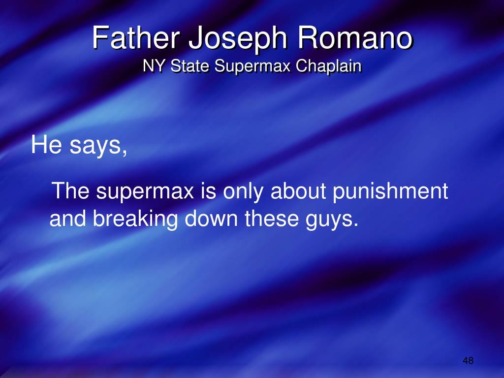Father Joseph Romano