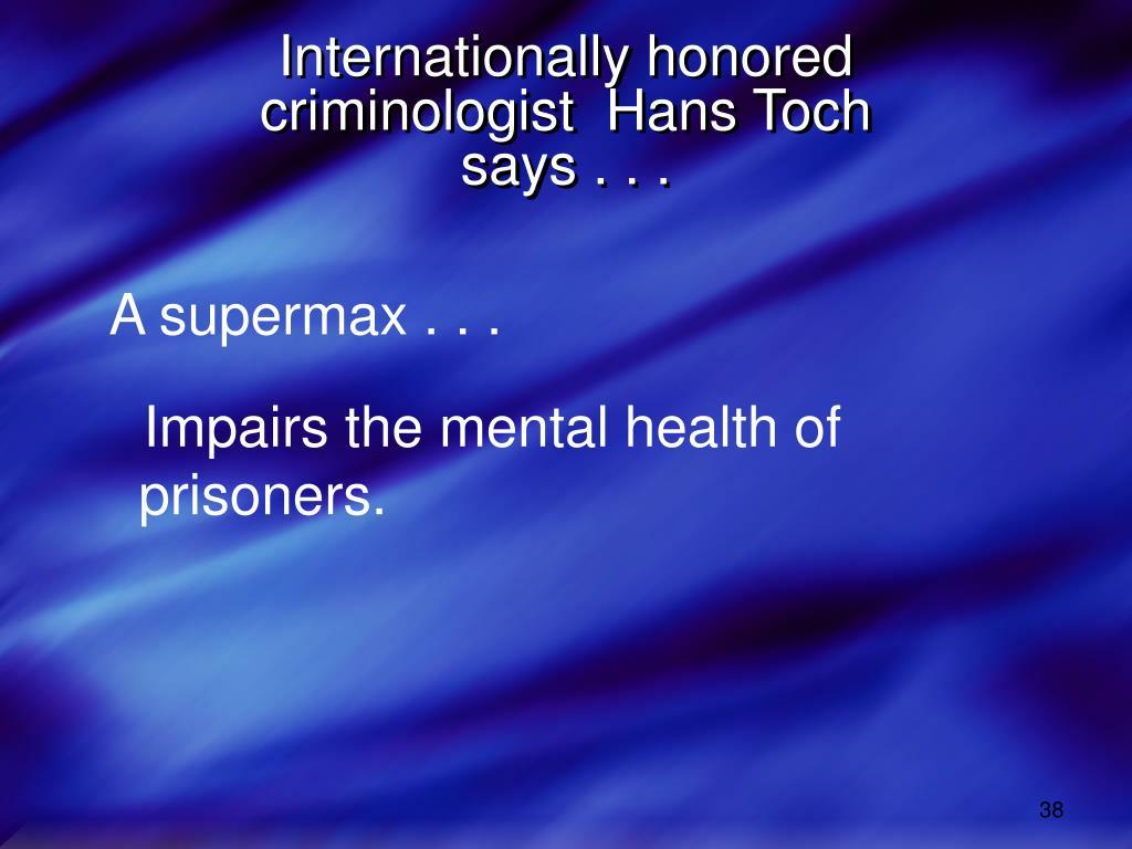 Internationally honored