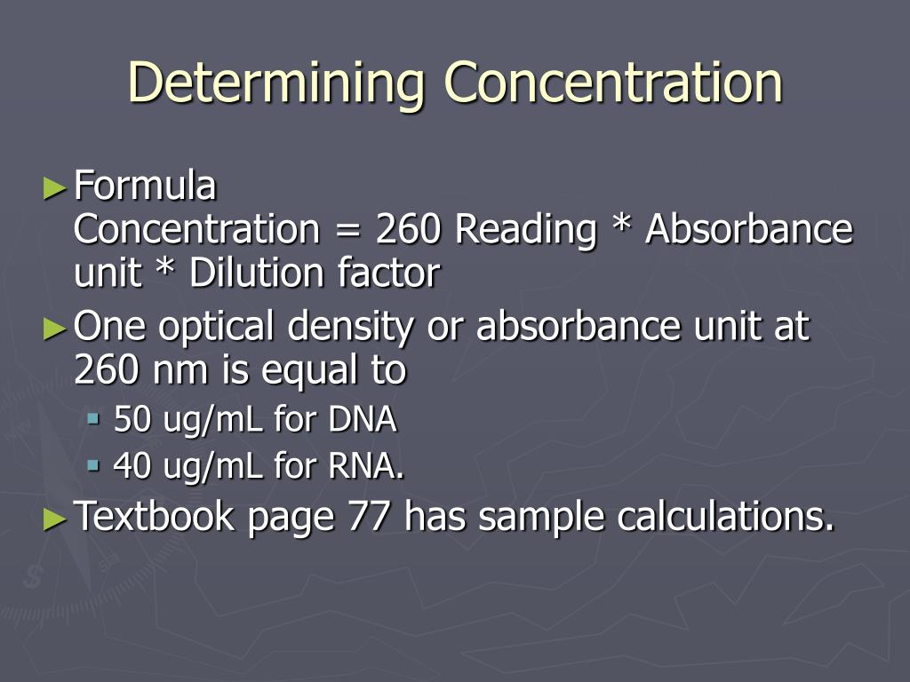 PPT - Unit 6 Nucleic Acid Extraction Methods PowerPoint