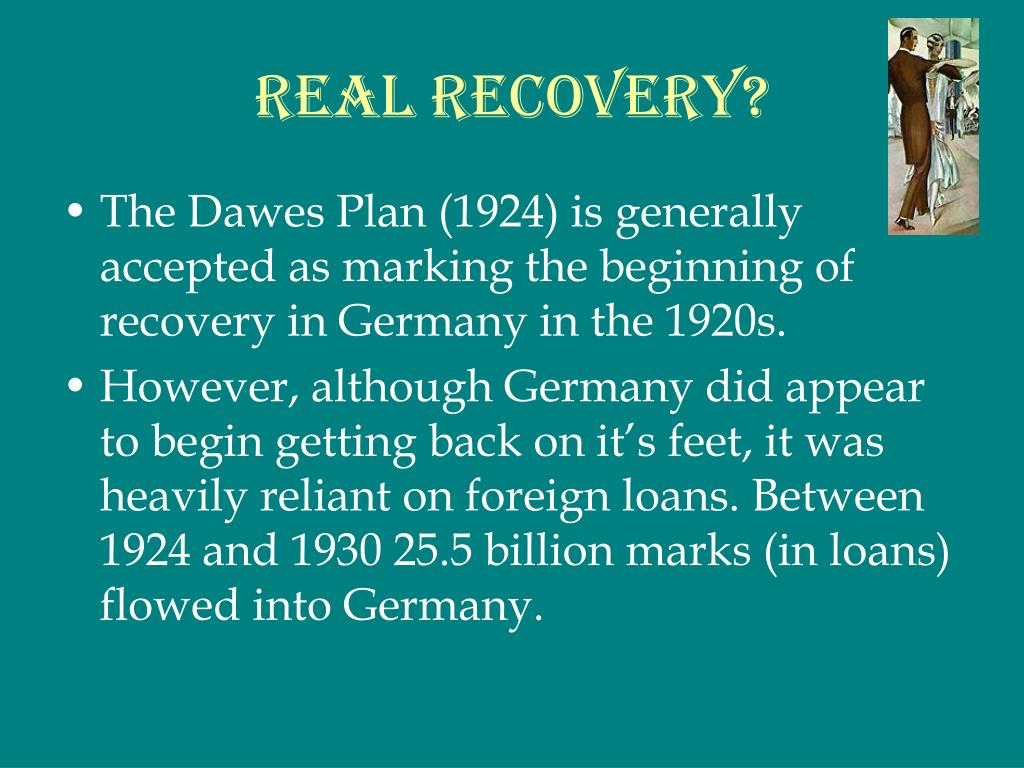 Real Recovery?