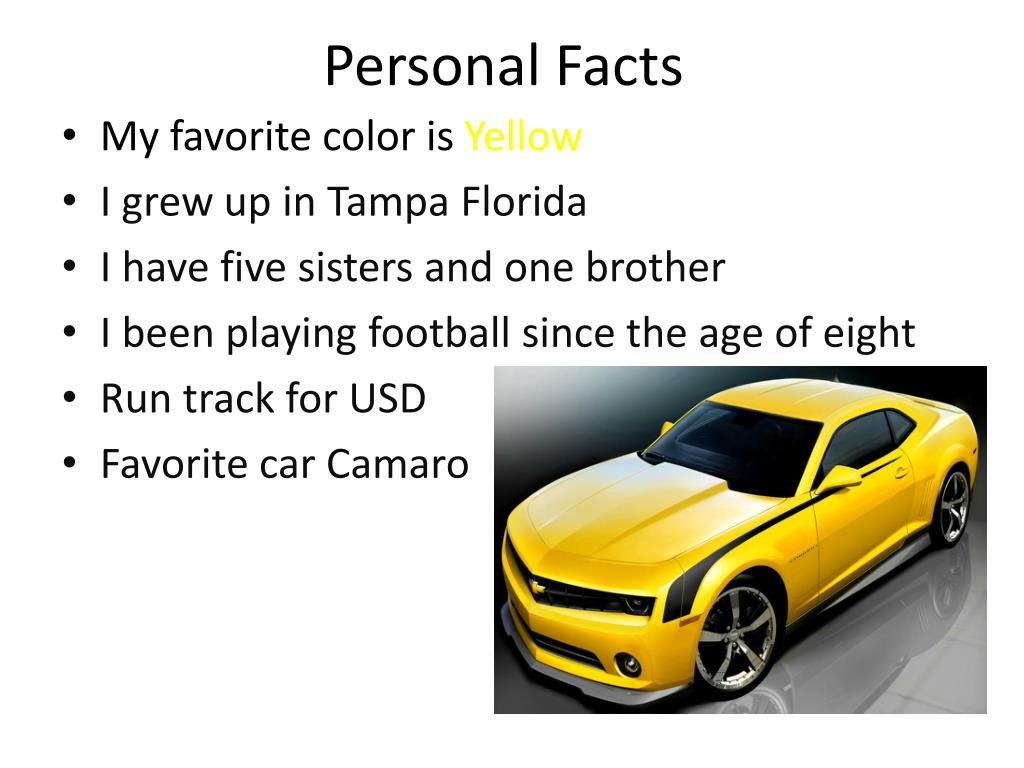 Personal Facts