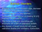 extrinsic disorders7