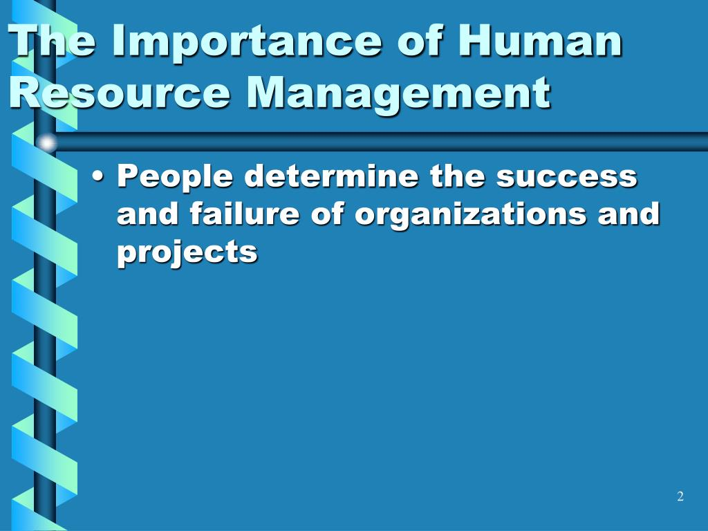 the important of human resources essay