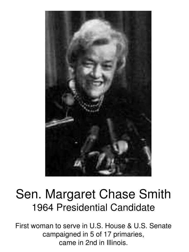 Sen. Margaret Chase Smith