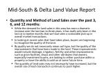 mid south delta land value report11