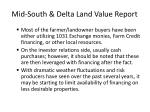mid south delta land value report16