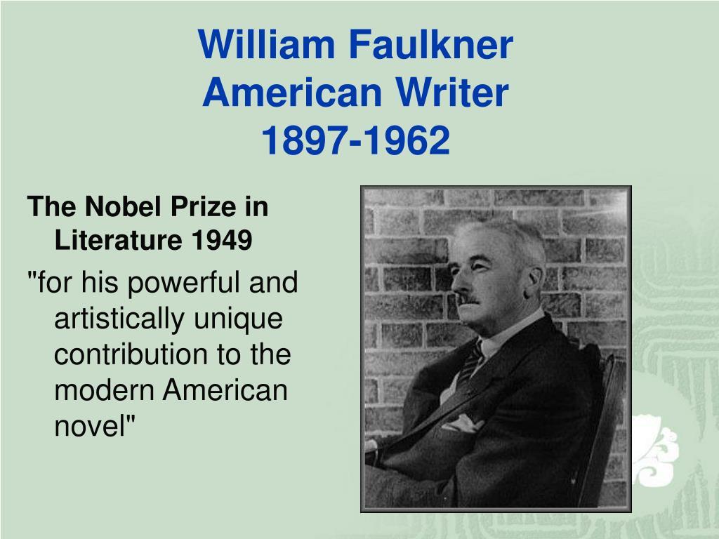 The Nobel Prize in Literature 1949