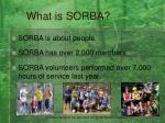 what is sorba4