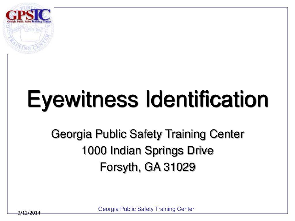 eyewitness identification l.