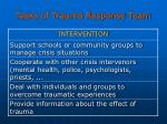 tasks of trauma response team30