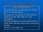 tasks of trauma response team31