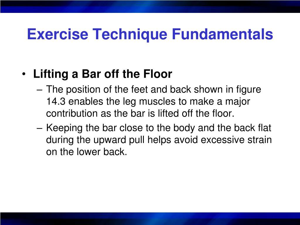 Exercise Technique Fundamentals