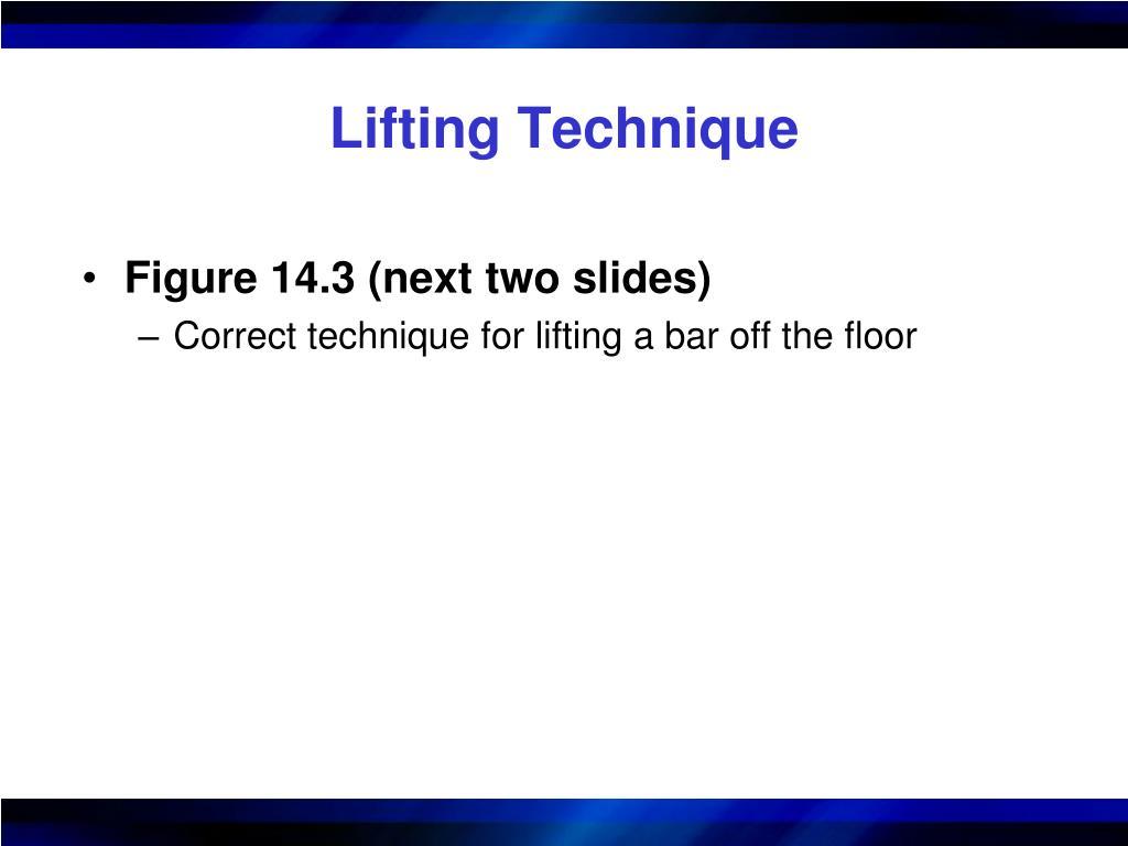 Lifting Technique