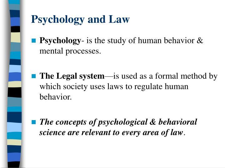 psychology the science of human behavior