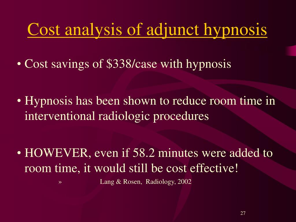 PPT - Preparing Patients for Surgery Hypnotically ...