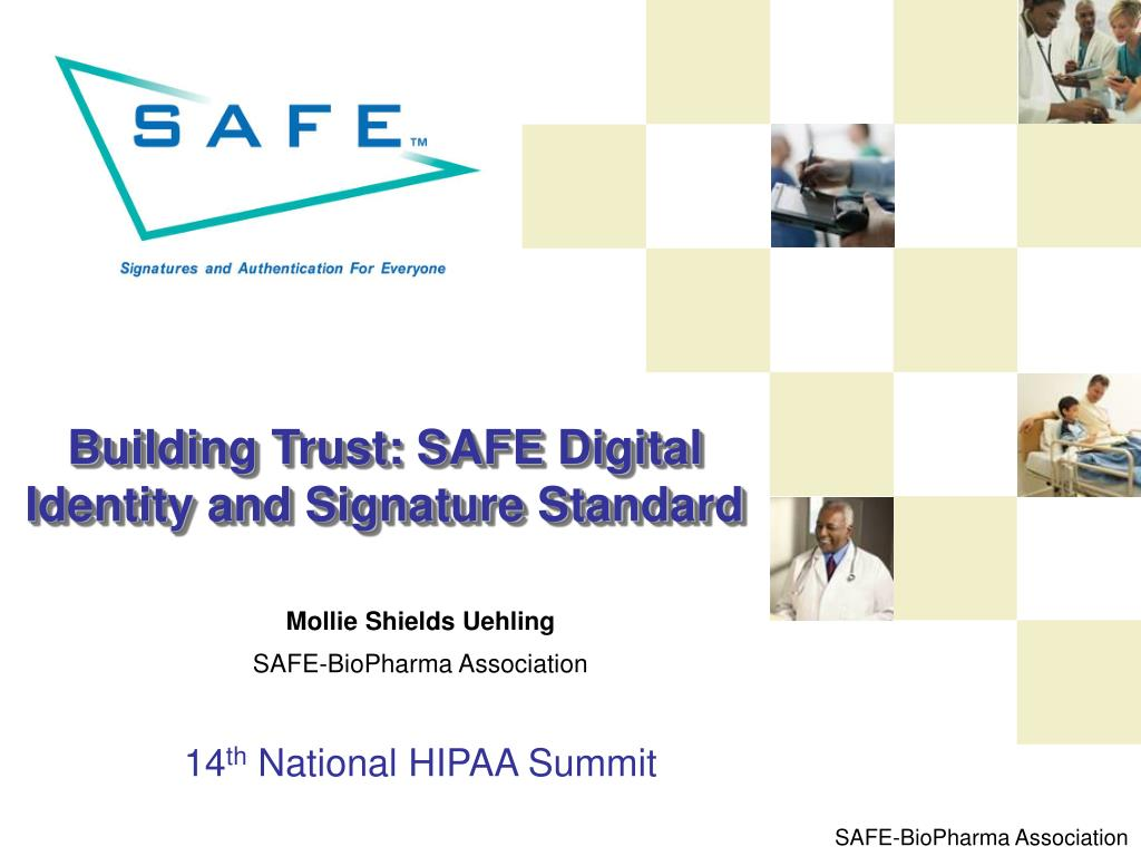 building trust safe digital identity and signature standard