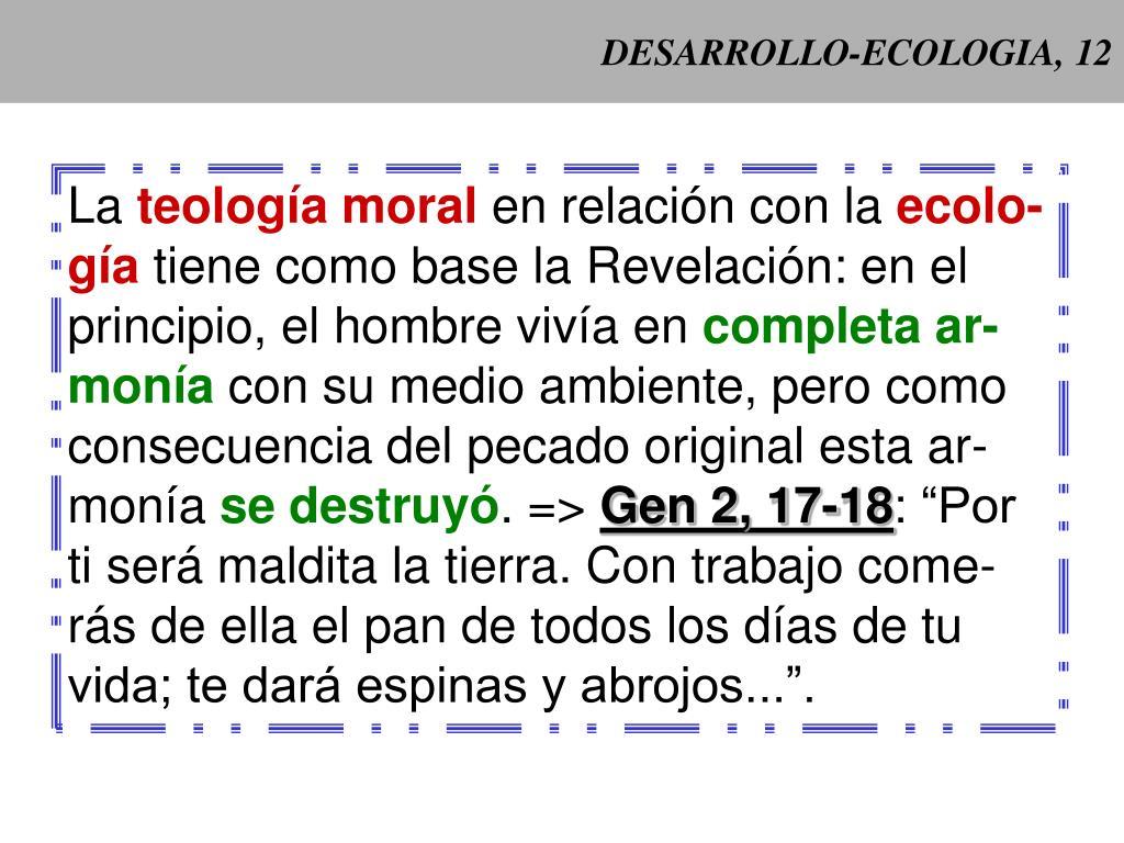 DESARROLLO-ECOLOGIA, 12
